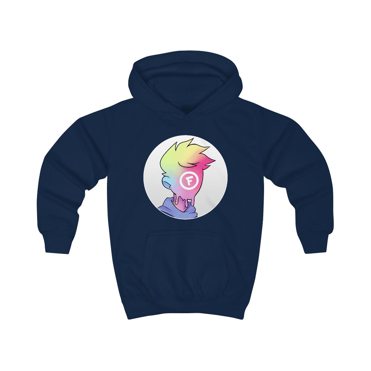 Kids - Fitz Logo Hoodie - Front Print