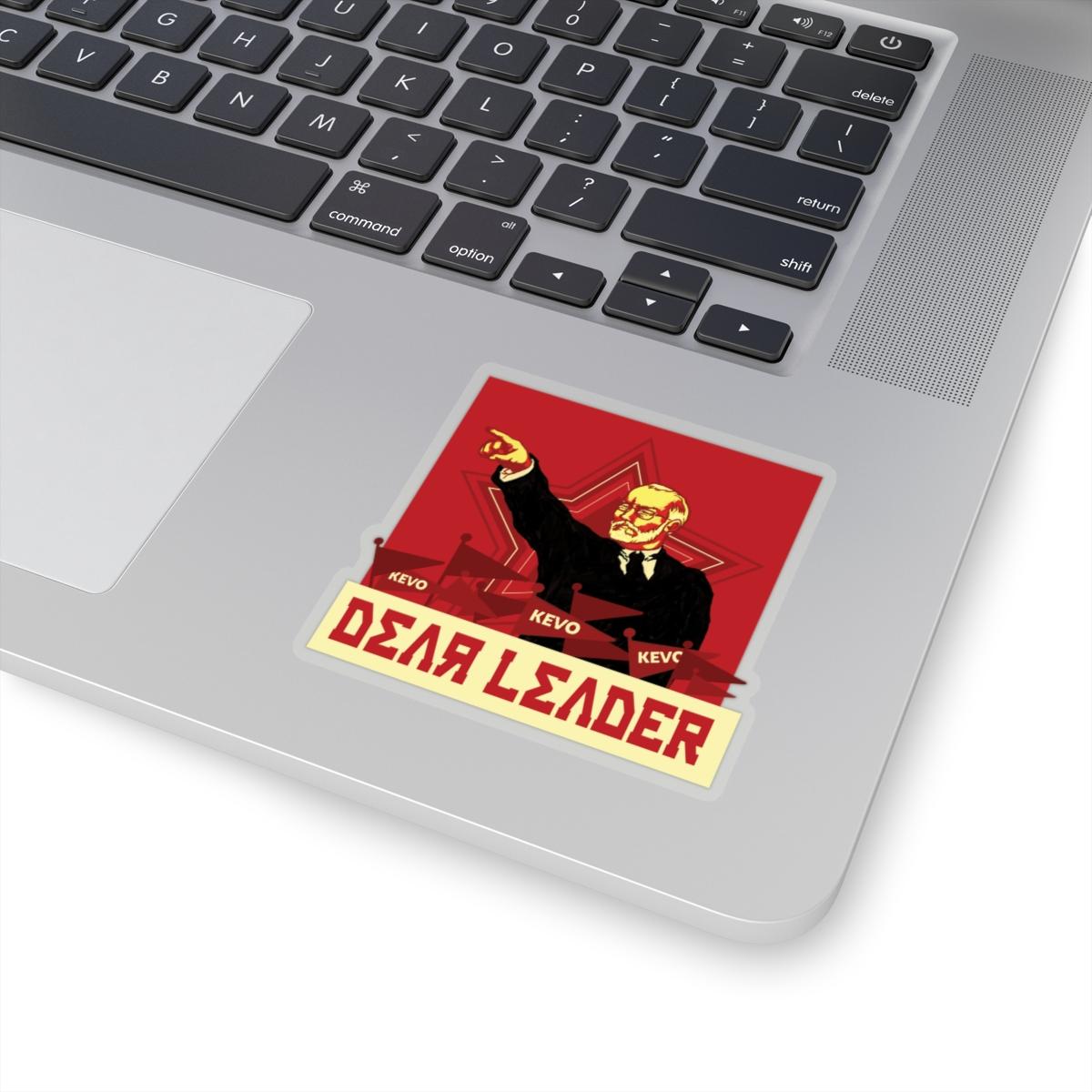 Dear Leader Sticker