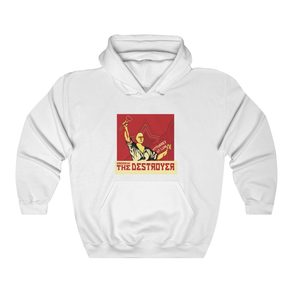 Grognak The Destroyer, Attorney at Law Hoodie