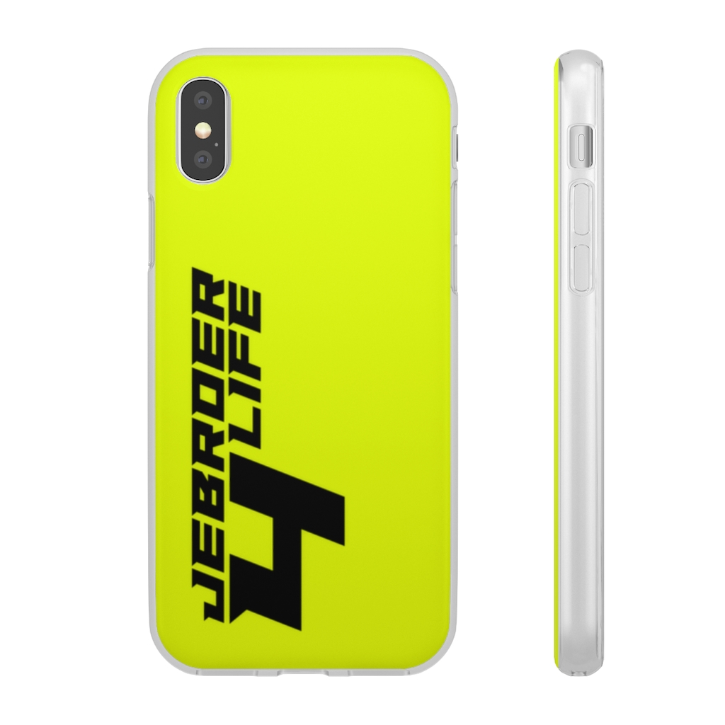 Jebroer 4 Life Phone Case Yellow