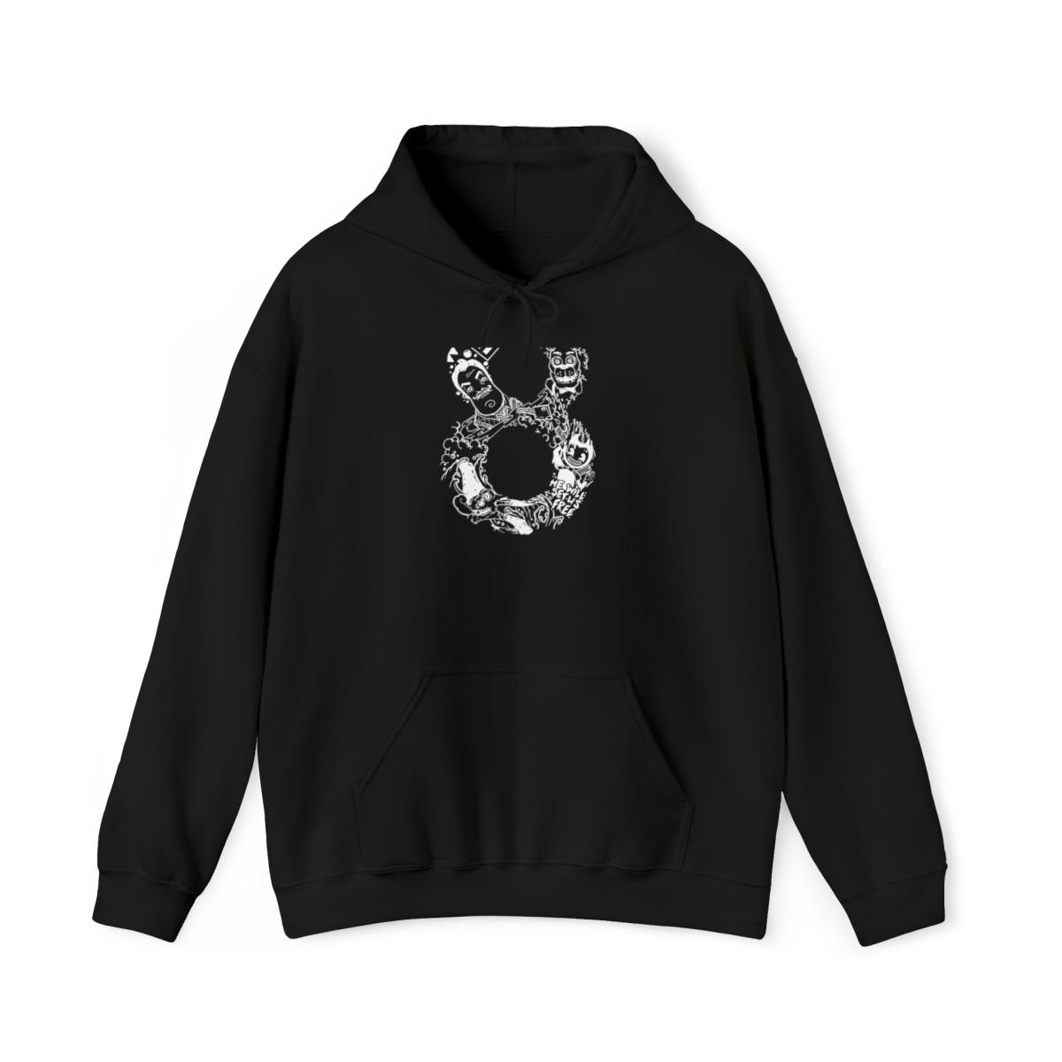 8Bit Hoodie - Black