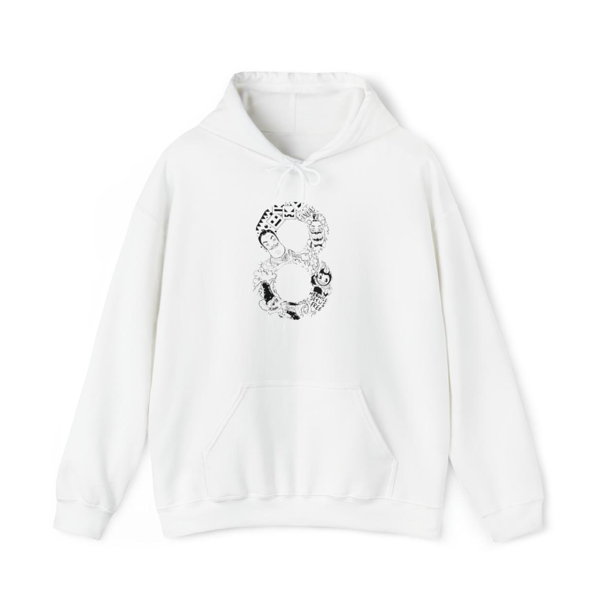 8Bit Hoodie - White