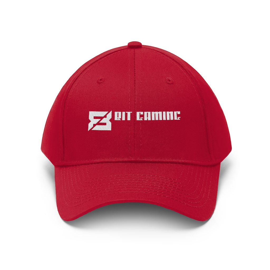 8Bit Gaming Cap - Red