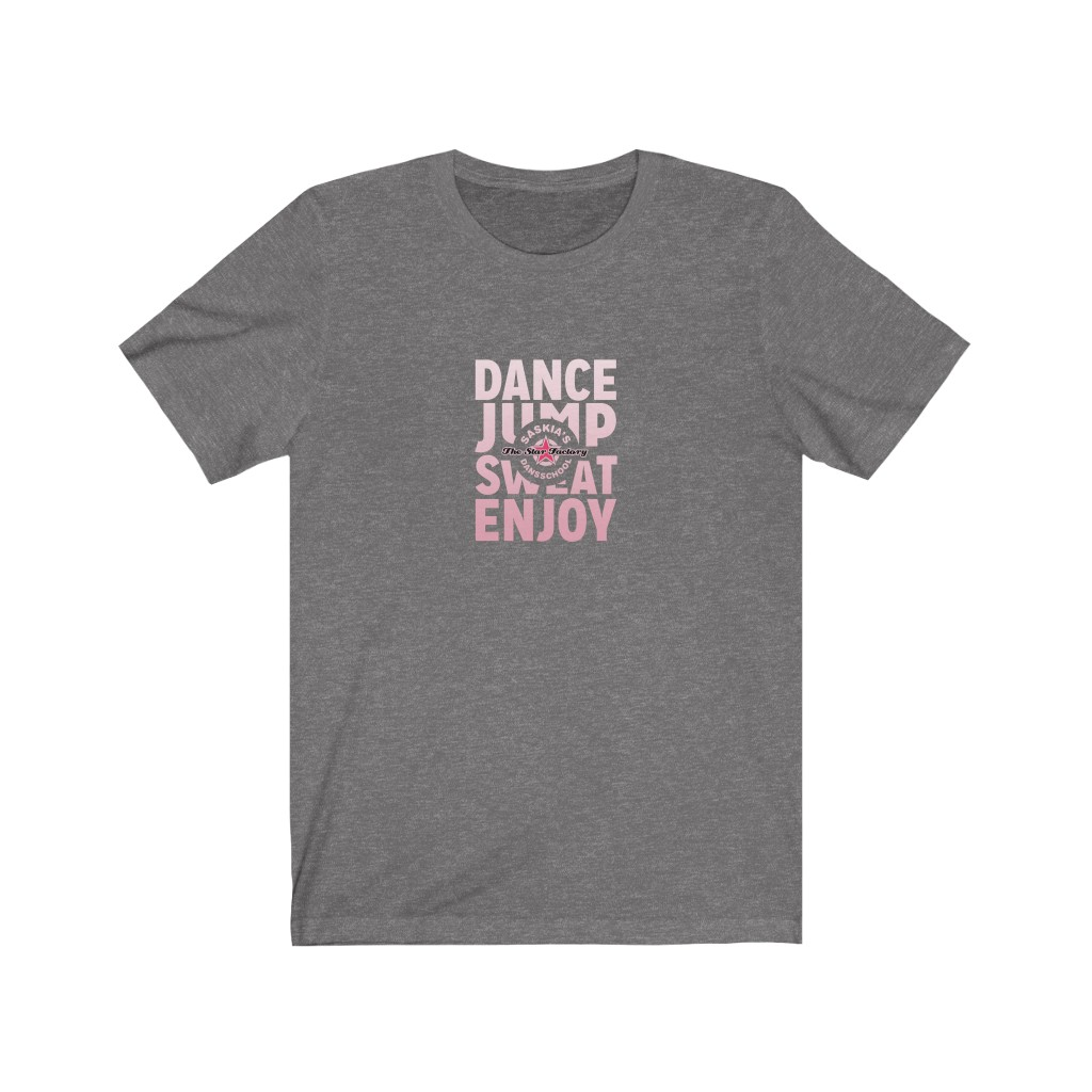 Pink Dance Jump Sweat Enjoy Tee