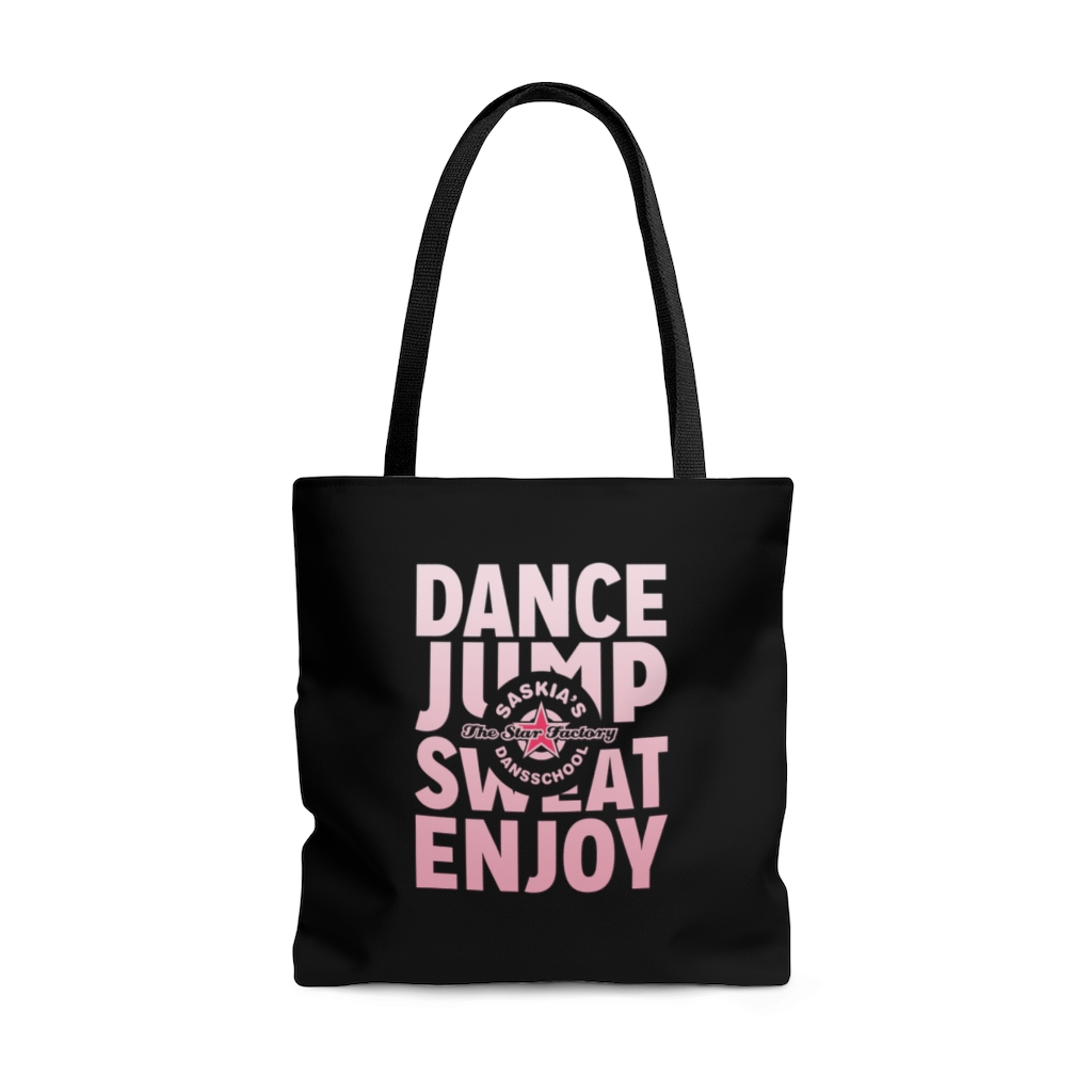 Dance Jump Sweat Enjoy Tote Bag