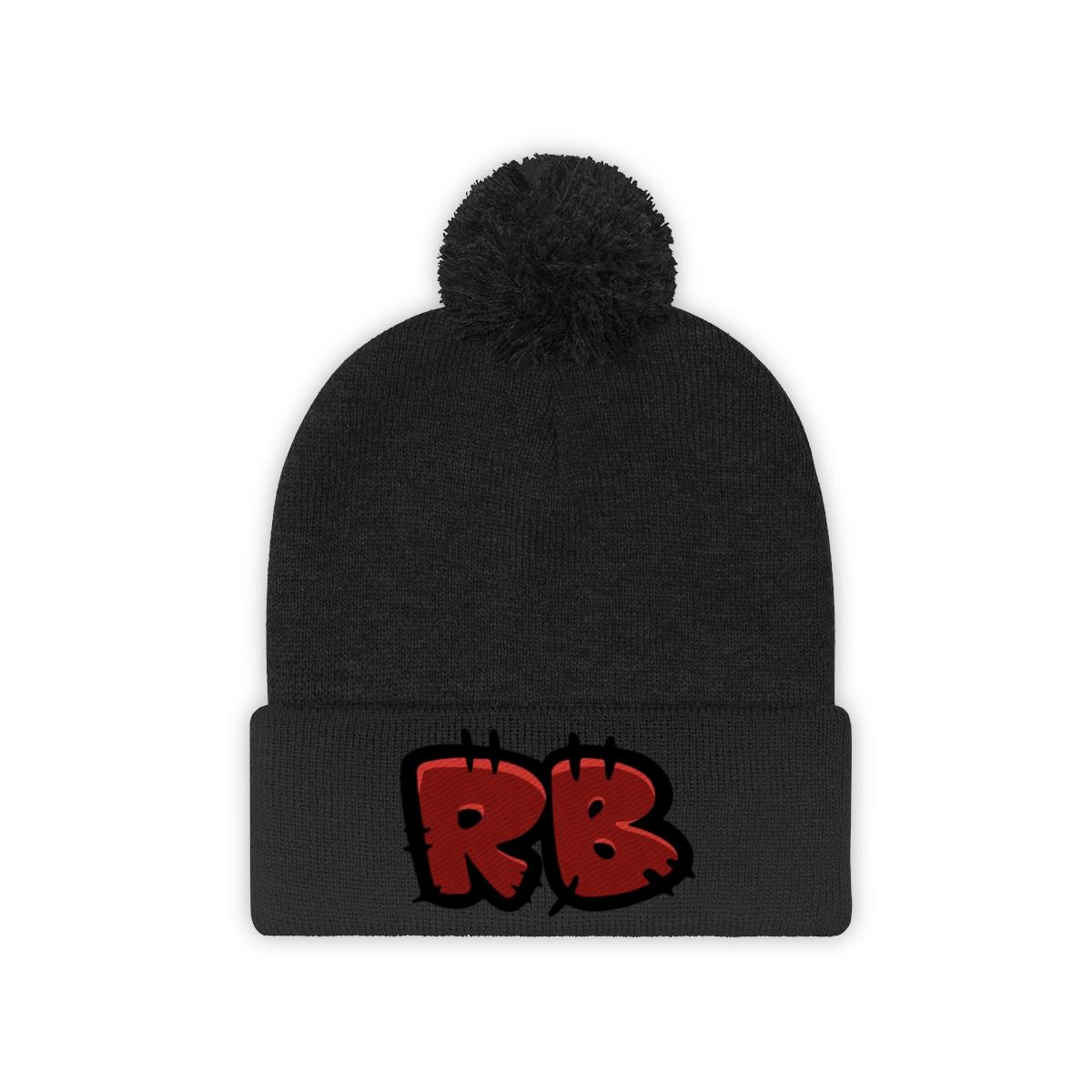 RB Pom Pom Beanie
